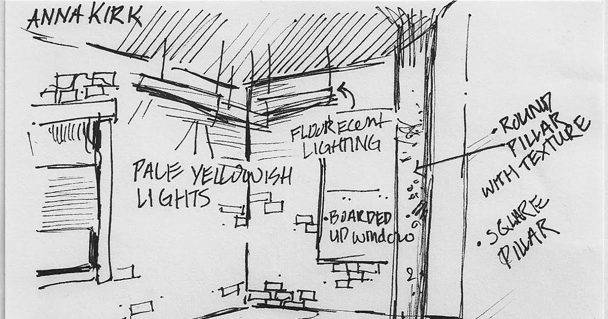 WSU Interior Design 2013: Combine Building sketches
