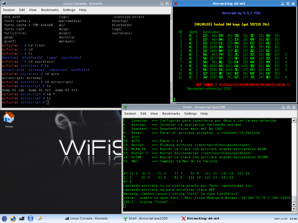Wifi Slax Wireless Hacking Live Cd 4 1 3 1 Xiaopan Forums
