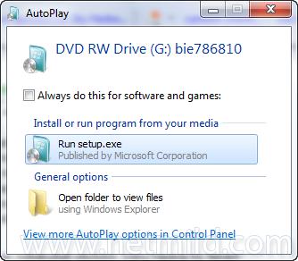 Run Cara Reinstall Windows 7 Tanpa Format Hard Drive