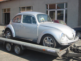erstes verzinktes auto