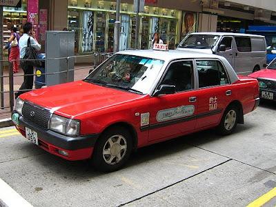 Hong Kong n Macau: [香港] 的士交通資訊