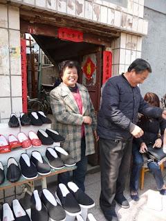 Shoe sellers