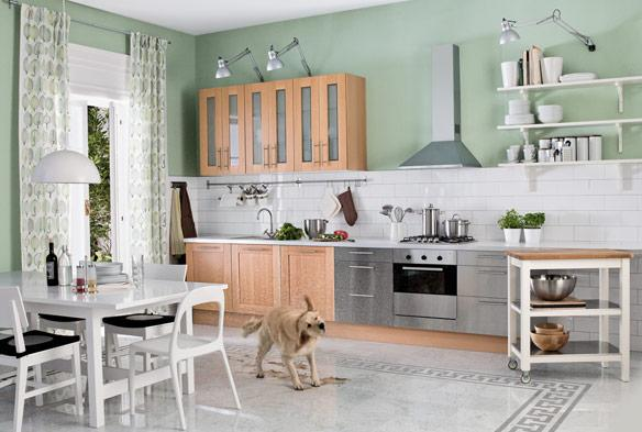 Consigli per la casa e l 39 arredamento cucine country for Arredamento e mobili per la casa ikea