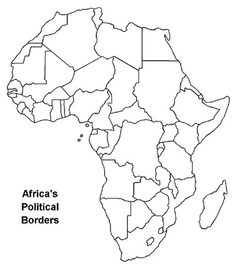 Physical Geography 101: Africa Quiz & Map
