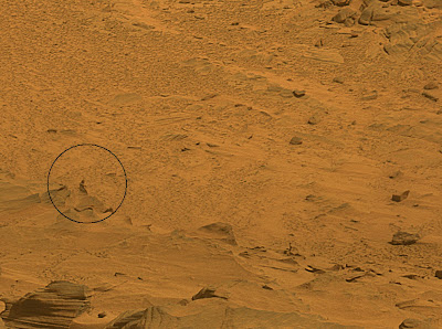Камен на Марс