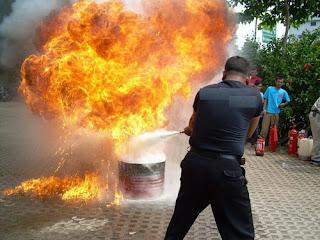 """Acidente em treinamento contra incêndio. """" 39b42e3326d36"""