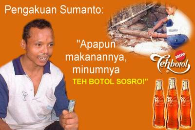 Isa Hoax Teh Botol Sosro