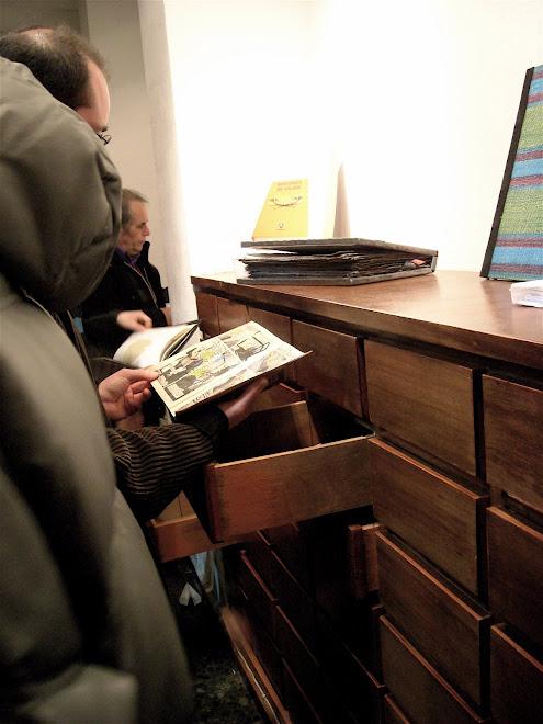 """""""libros en cajones"""" Valencia 08"""