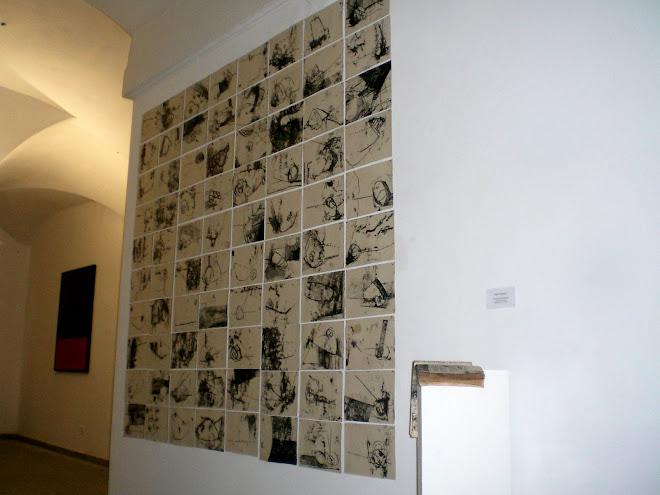 installazione per il Premio Zucchelli , Bologna 2007