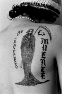 San La Muerte Tatuajes Una Demostracion De Fe