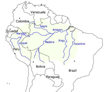 Matt In The World Equador To Peru By The Napo River