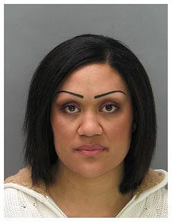 Eyebrow mugshot