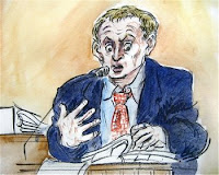 Hans Reiser Trial Sketch