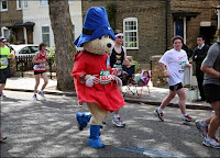 London Marathon Squirrel