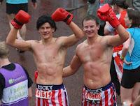 London Marathon Rocky