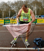 London Marathon Ironing Guy