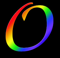 What could be gayer than a rainbow O?