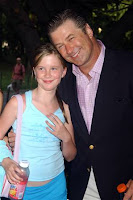 Alec Baldwin and his daughter