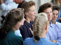 A gaggle of FLDS women. Or is it a flock?