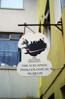 Entrance to the Icelandic Phallological Museum