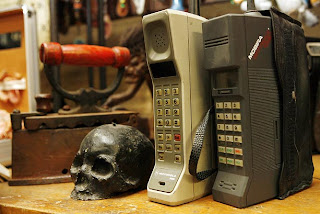 No one is coming back for these phones. The skull? Maybe.
