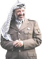 Arab man Yassir Arafat