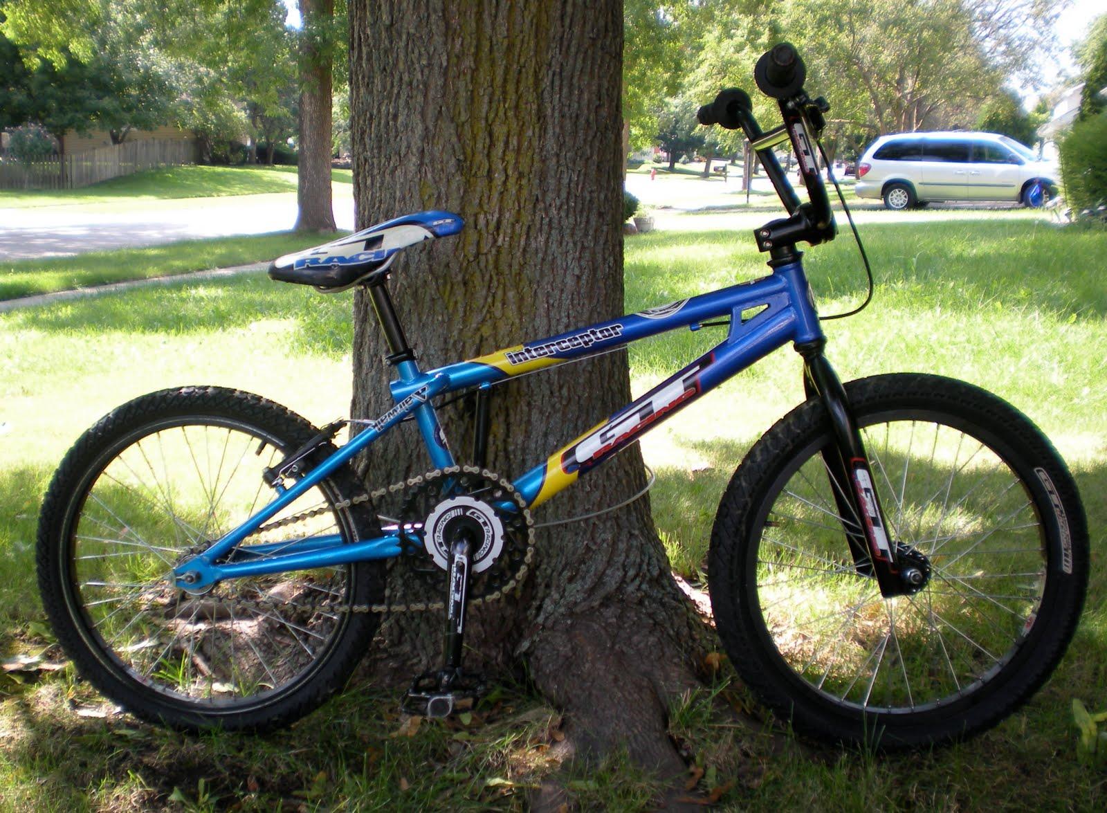 Indie Cycles 2001 Gt Interceptor Bmx Bike
