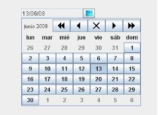 Html Calendario.Un Aporte A Java Un Calendario Para Java