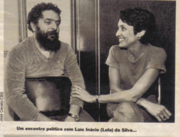 JOAN BAEZ E LUÍS INÁCIO DA SILVA
