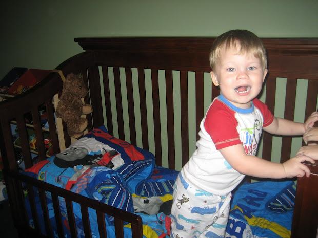 Morris Family Thomas Train Bedding