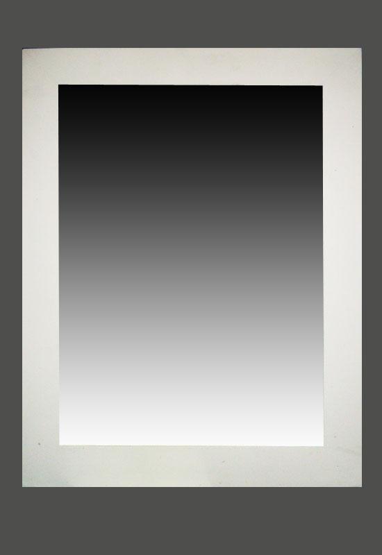Espejos con marcos artesanales de madera en venta for Espejos con marco de madera blanco