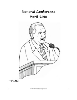 Beehive Messages: General Conference Packet April 2010