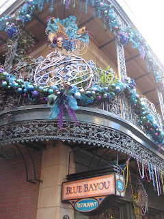 Blue Bayou in the New Orleans Square for Lunch