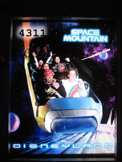 Front Row on Space Mountain