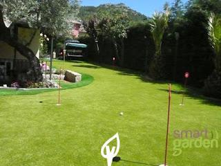 putting green de césped artificial golf