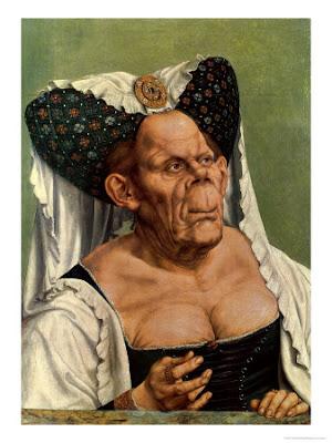 mariage de jamel Debouz Grostesque+old+woman