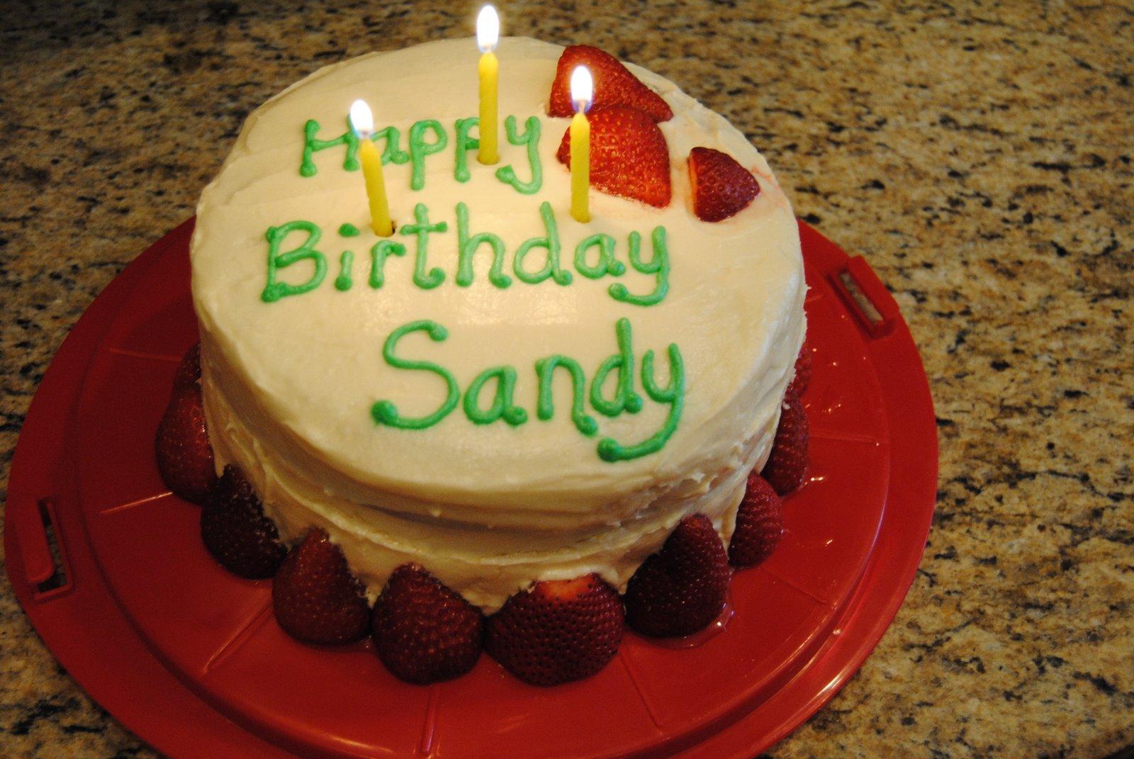 Happy Birthday Sandi Cake Images
