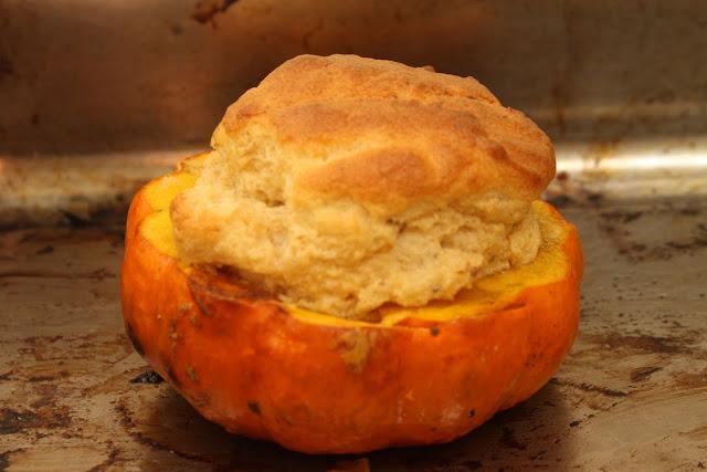 munchkin pumpkin souffle