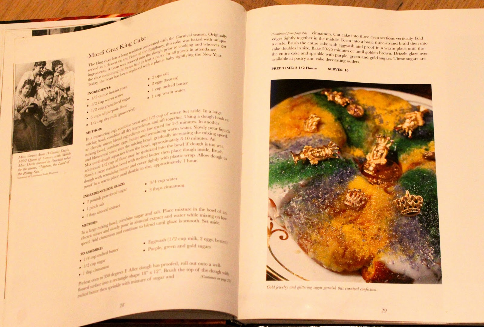 John Folse King Cake Recipe