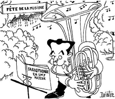 Sarkozy trombone