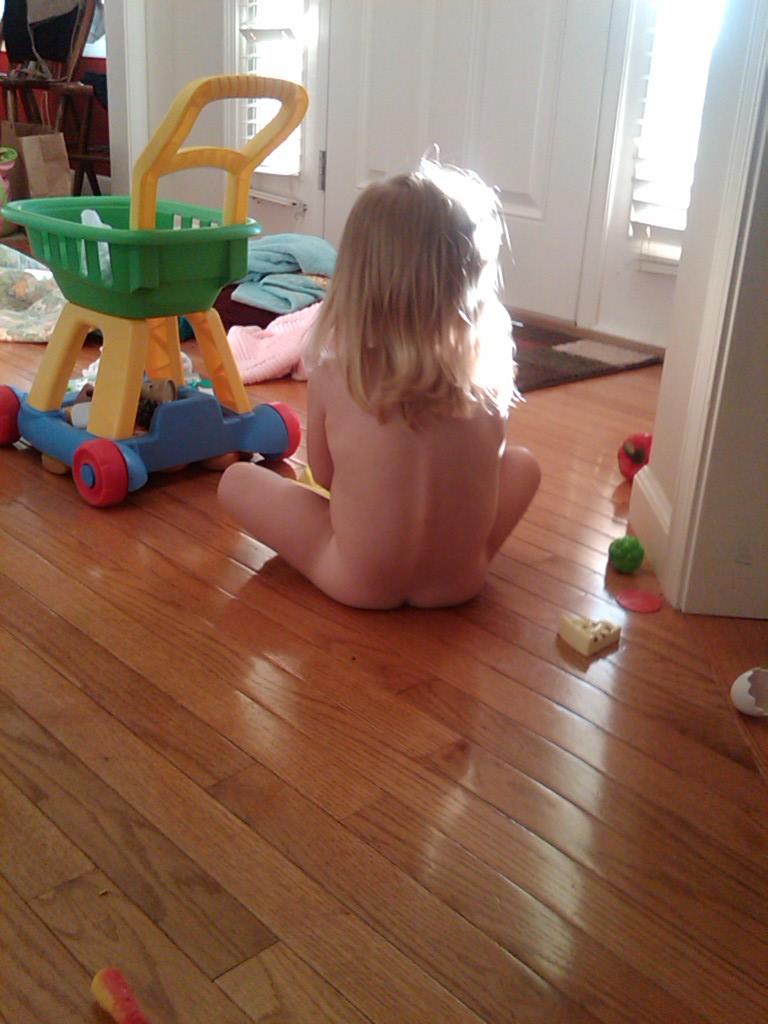 ass vibrator in her diaper
