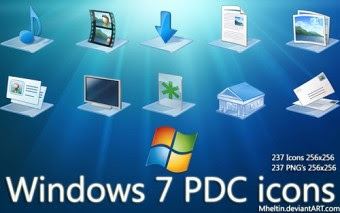Pack de Iconos De Windows 7