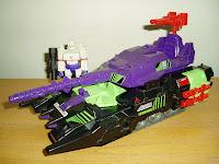 Action Master Megatron with Neutro-Fusion Tank