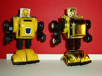 Generation One Bumblebee and Generation Two Bumblebee