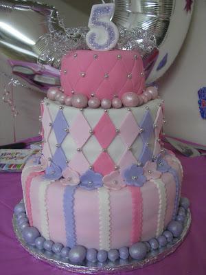 Cakes By Kim Girl S 5th Birthday Cake
