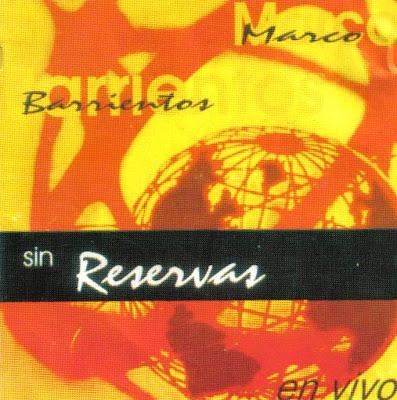 DVD Sin reserva Marco Barrientos Reservas