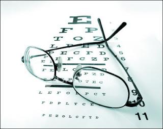 Examen de la vista.
