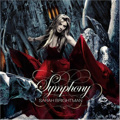 Portada del disco Symphony de Sarah Brightman