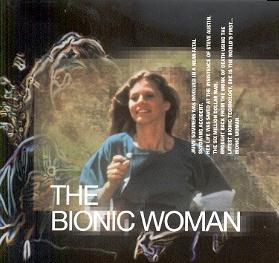 La mujer biónica. Años 70