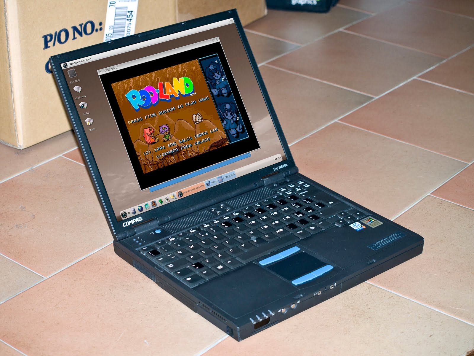 Mission Icaros Laptop: Accomplished! - Icaros Desktop
